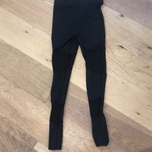 Dance pant with sheer cut outs